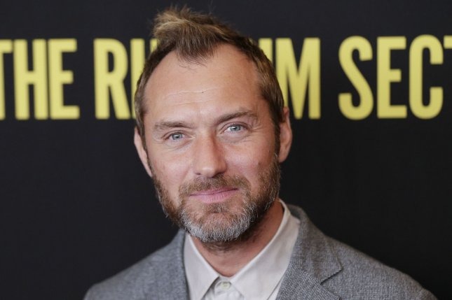 Jude Law is in talks to play Captain Hook in Peter Pan & Wendy. File Photo by John Angelillo/UPI