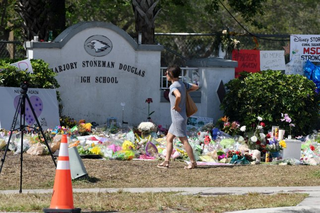President Joe Biden called on Congress Sunday to pass commonsense gun law reforms on the third anniversary of the Marjory Stoneman Douglas High School shooting in Parkland, Fla., that left 17 dead.Photo by Gary Rothstein/UPI