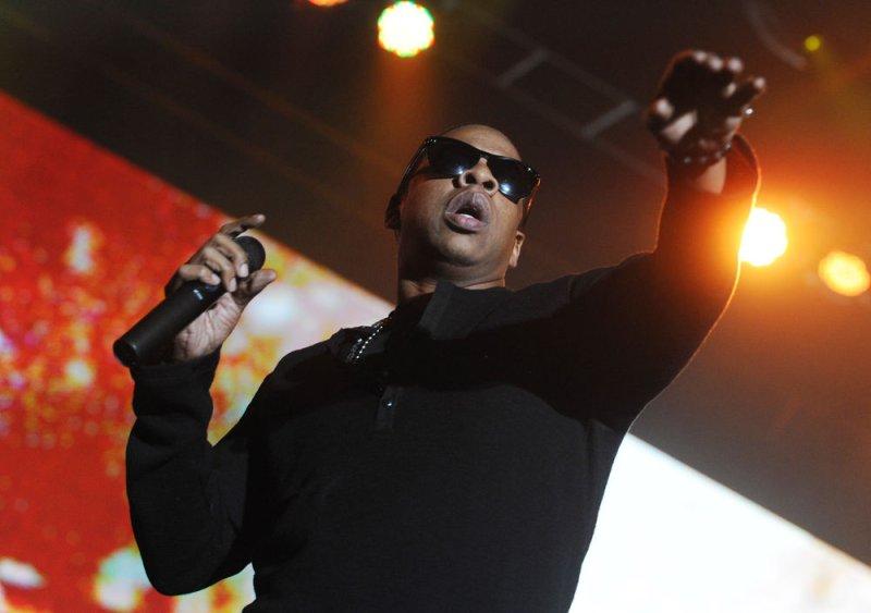 American hip-hop artist Jay-Z performs at Alexandra Palace in London on November 4, 2009. UPI/Rune Hellestad