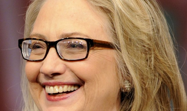 Former U.S. Secretary of State Hillary Clinton is seen as the leading contender for the Democratic presidential nomination in 2016. file photo. UPI/Mike Theiler