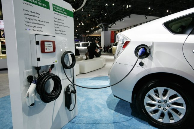 German energy company offering quicker ways to charge electric vehicles, while Michigan highlights a different way to pay. File Photo by Monika Graff/UPI.