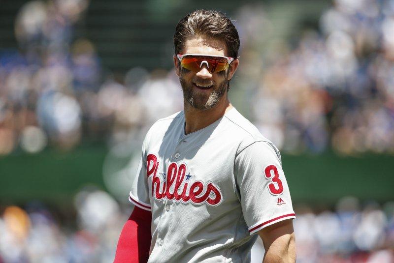 size 40 27db7 70a58 Watch: Phillies' Bryce Harper rips walk-off grand slam vs ...
