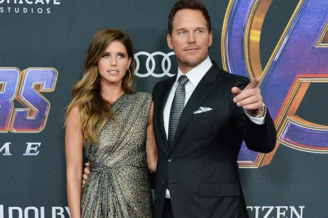 Chris Pratt, seen here with wife Katherine Schwarzenegger, is the voice of Barley in Pixar's Onward. File Photo by Jim Ruymen/UPI