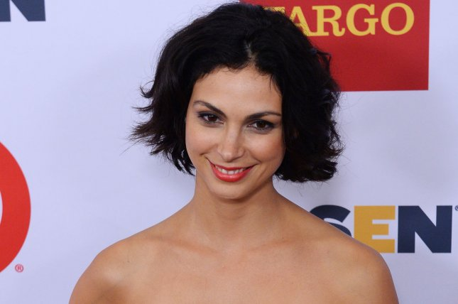 Actress Morena Baccarin revealed her character on Deadpool on Thursday. File photo by Jim Ruymen/UPI