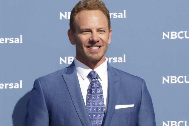 Ian Ziering arrives at the 2016 NBCUNIVERSAL Upfront in New York City on May 16, 2016. File photo by John Angelillo/UPI