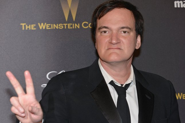 Director Quentin Tarantino arrives at the Weinstein Company & Netflix 2016 Golden Globes after party in Beverly Hills on January 10, 2016. File Photo by Christine Chew/UPI