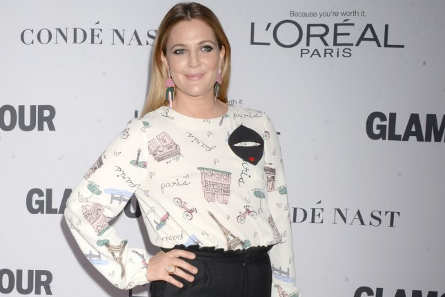 Producer Drew Barrymore is working with Savannah Guthrie on a cartoon based on Guthrie's picture book Princesses Wear Pants. File Photo by Dennis Van Tine/UPI