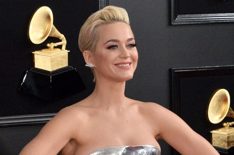 Katy Perry attends the Grammy Awards on Sunday. File Photo by Jim Ruymen/UPI