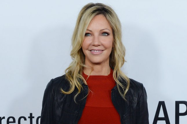 Heather Locklear will star in new Lifetime biopic Don't Sweat the Small Stuff: The Kristine Carlson Story. Meghan McCain is executive producing. File Photo by Jim Ruymen/UPI