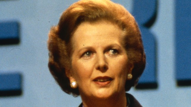 Margaret Hilda Thatcher, Baroness Thatcher, LG, OM, PC (born 13 October 1925), is the former Prime Minister of the United Kingdom, in office from 1979 to 1990. She was leader of the Conservative Party from 1975 until 1990. She is the only woman to have been Prime Minister of the United Kingdom. (UPI Photo)