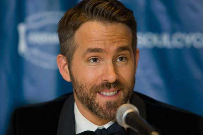 Deadpool star Ryan Reynolds answers questions after earning the Harvard University Hasty Pudding Theatricals 2017 Man of the Year award on February 3, 2017. Deadpool 2 along with X-Men sequel Dark Phoenix starring Sophie Turner have recieved release dates. File Photo by Matthew Healey/UPI