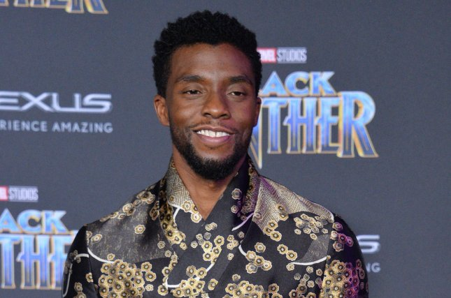 Chadwick Boseman's Black Panther is among the nominees for the Producers Guild of America's top prize for film. File Photo by Jim Ruymen/UPI