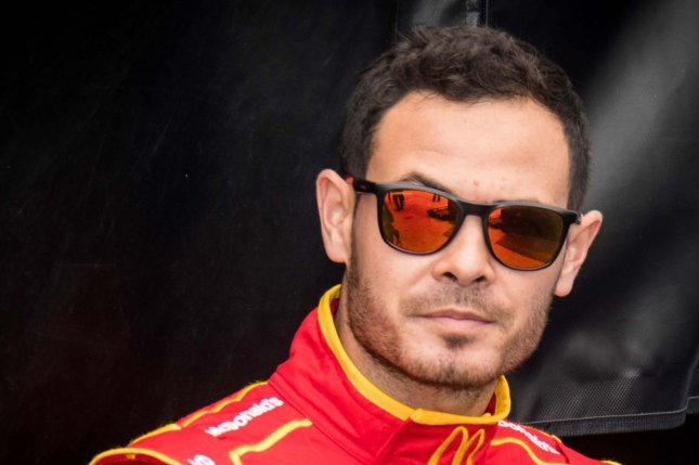 NASCAR's Kyle Larson is in second place in the Cup Series standings due to his latest winning streak, which includes a victory in the Ally 400 on Sunday in Nashville. File Photo by Edwin Locke/UPI