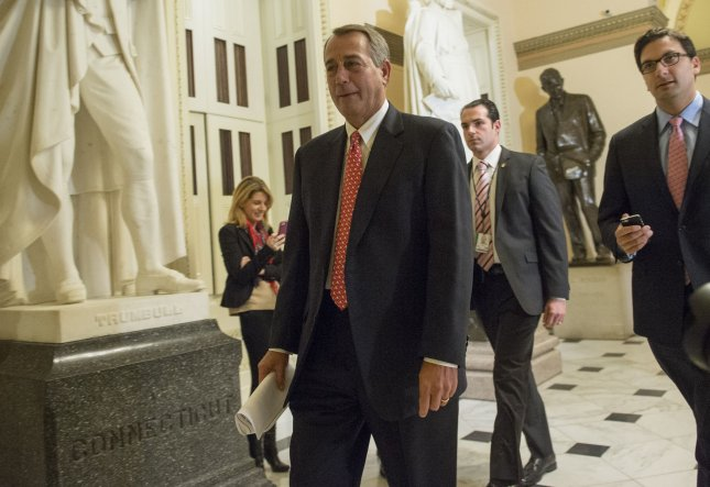 House Speaker John Boehner finally got control of his fractious caucus, enabling passage of the first budget resolution since 2009. UPI/Kevin Dietsch
