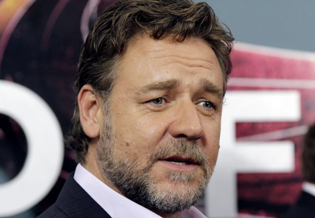 Russell Crowe arrives on the red carpet at the Man Of Steel world premiere at Lincoln Center's Alice Tully Hall in New York City on June 10, 2013. UPI/John Angelillo
