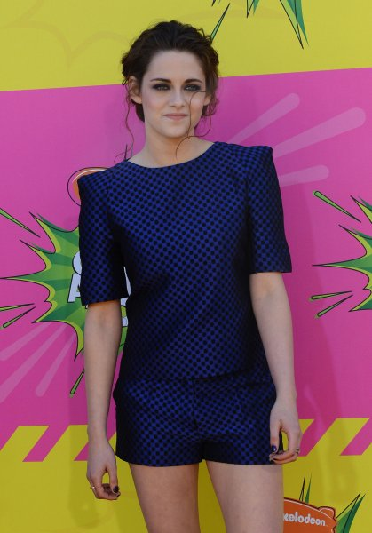 Kristen Stewart from 'Twilight' arrives for Nickelodeon's 26th annual Kid's Choice Awards at the Galen Center in Los Angeles on March 23, 2013. UPI/Jim Ruymen
