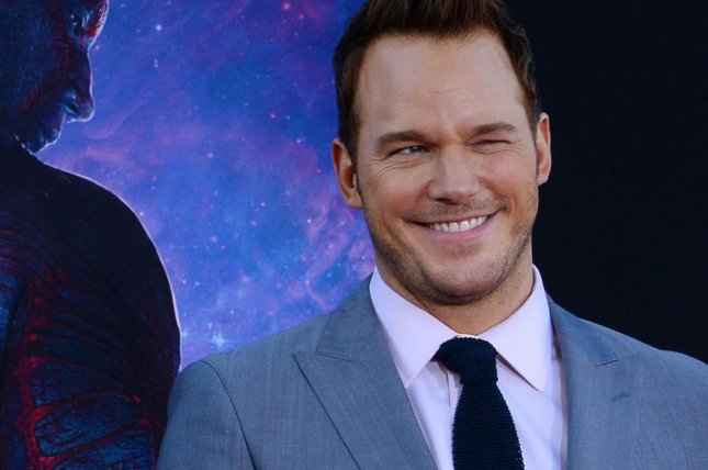 Chris Pratt, a cast member in the sci-fi motion picture Guardians of the Galaxy attends the premiere of the film at the El Capitan Theatre in the Hollywood section of Los Angeles. Guardians of the Galaxy was the top grossing film of 2014. UPI/Jim Ruymen