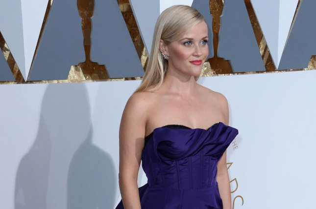 Legally Blonde actress Reese Witherspoon arrives on the red carpet for the 88th Academy Awards in Los Angeles on February 28, 2016. File Photo by Jim Ruymen/UPI