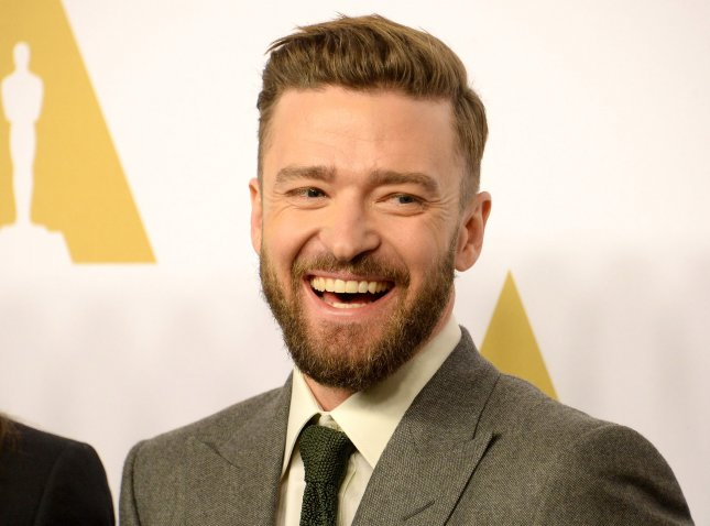 Justin Timberlake attends the 89th annual Academy Awards Oscar nominees luncheon on February 6. In a new interview Timberlake said the first few months of being a father were rough stating, At first, it broke me down. Photo by Jim Ruymen/UPI