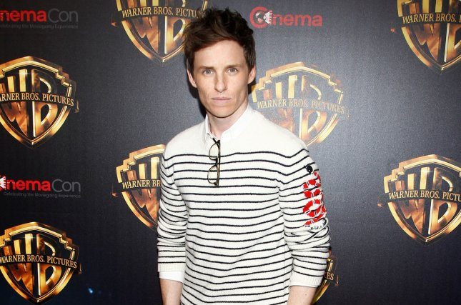 Eddie Redmayne appears as Newt Scamander in a new poster for Fantastic Beasts: The Crimes of Grindelwald. File Photo by James Atoa/UPI