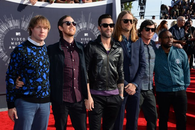 Maroon 5 has been selected as the act to perform at the 2019 Super Bowl Halftime Show, Variety reported Wednesday. File Photo by Jim Ruymen/UPI