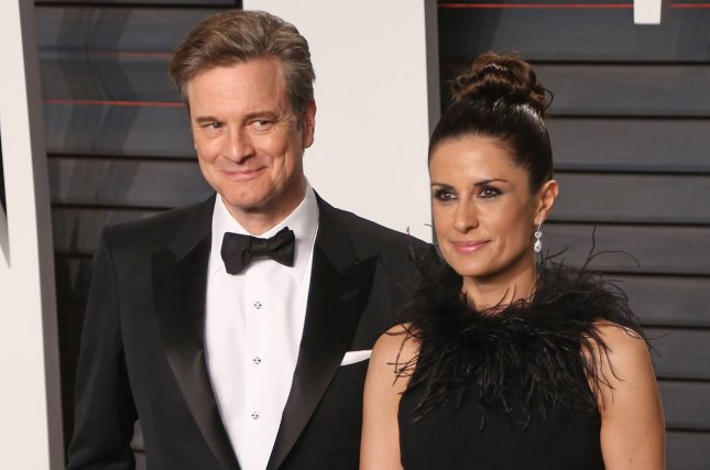 Colin Firth (L) has separated from his wife, film producer Livia Giuggioli. File Photo by David Silpa/UPI