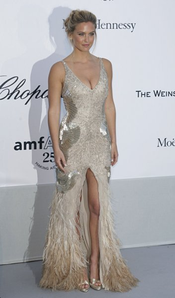 Bar Refaeli arrives on the red carpet at the amfAR Cinema Against AIDS gala taking place during the Cannes International Film Festival at the Hotel du Cap-Eden-Roc near Cannes, France on May 19, 2011. The event raises funds for AIDS research. UPI/David Silpa