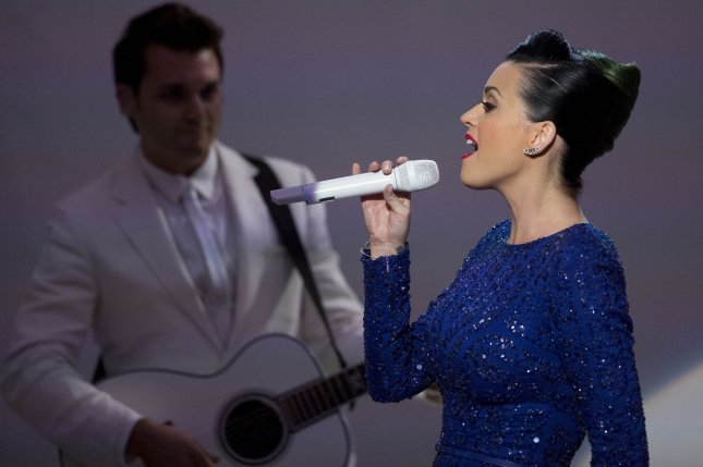 Katy Perry in July 2014. UPI/Andrew Harrer/Pool
