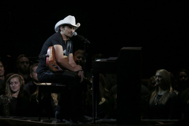 The Country Music Association rescinded its controversial media guidelines for the CMA Awards after Brad Paisley called the restrictions ridiculous on Twitter. File Photo by John Sommers II/UPI