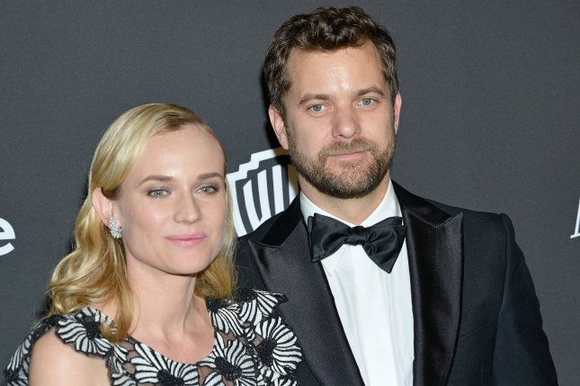 Actor Joshua Jackson (R), seen here with actress Diane Kruger on January 11, 2015,  was cast as the lead in the Hulu limited series Little Fires Everywhere.  File Photo by Christine Chew/UPI