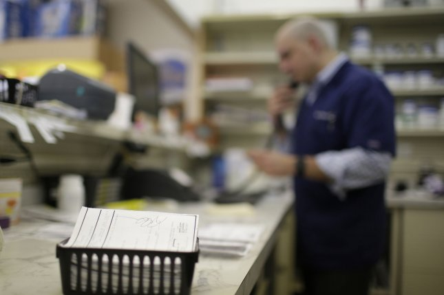 A new study shows independent pharmacies are three times more likely to close than chain stories, which researchers say could affect affordability of drugs, as well as availability for some people. File Photo by John Angelillo/UPI
