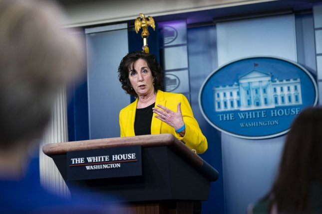 Roberta Jacobson, coordinator for the southwest border on the White House National Security Council, speaks during a news conference Wednesday in the James S. Brady Press Briefing Room at the White House in Washington, D.C. Photo by Al Drago/UPI