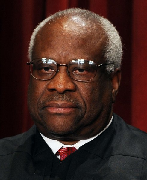 Associate Justice Clarence Thomas. 2010 file photo. UPI/Roger L. Wollenberg