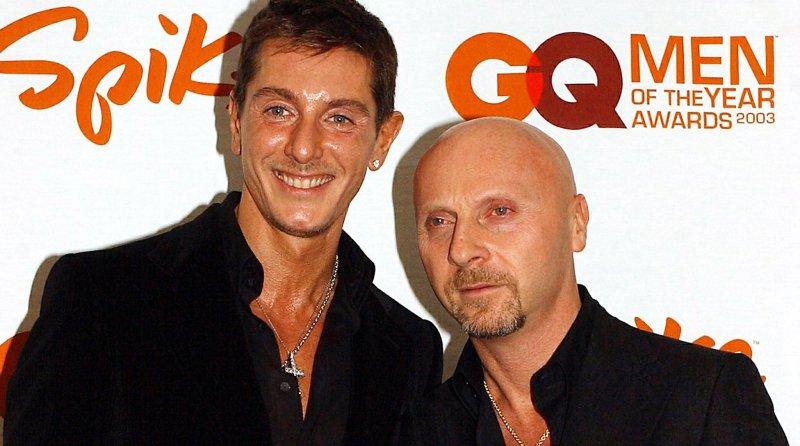 Fashion Designers Domenico Dolce & Stefano Gabbana, the designers behind the fashion house Dolce and Gabbana. (File/UPI/Ezio Petersen)