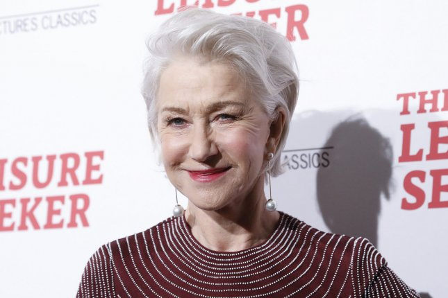 Helen Mirren took on James Corden in a new edition of Drop the Mic on the Late Late Show. File Photo by John Angelillo/UPI