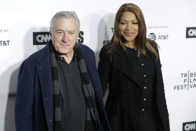 Robert De Niro with his wife Grace Hightower. De Niro is a part of the Walk of Fame class of 2019 that also includes Mandy Moore. File Photo by John Angelillo/UPI