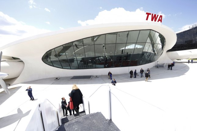 The TWA hotel opened to guests at JFK International airport on Wednesday, 20 years after the closure of the former airport terminal. Photo by John Angelillo/UPI