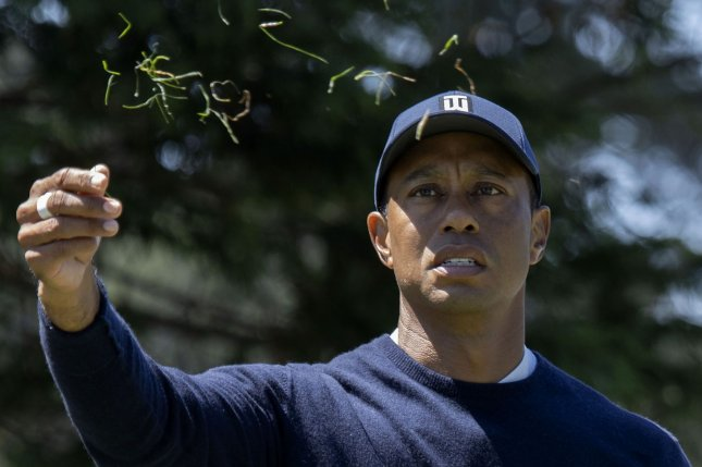 Tiger Woods said he feels more prepared at this point than he did before the 2020 U.S. Open. File Photo by Peter DaSilva/UPI