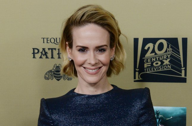 Sarah Paulson at the Los Angeles premiere of American Horror Story: Hotel on October 3, 2015. File Photo by Jim Ruymen/UPI