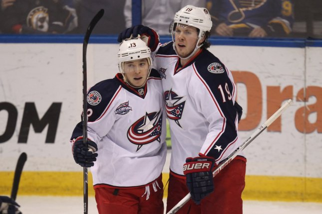 huge selection of 960d7 7cebb Columbus Blue Jackets' Cam Atkinson replaces Evgeni Malkin ...