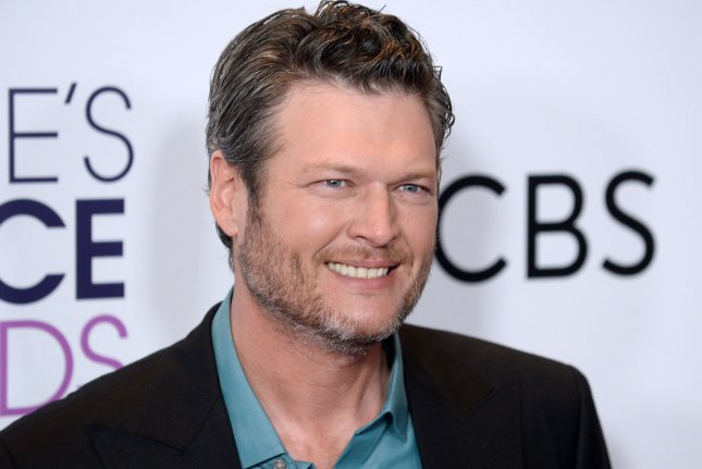 Blake Shelton has been named People magazine's Sexiest Man Alive for 2017. File Photo by Jim Ruymen/UPI
