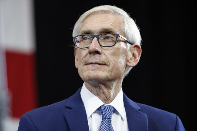 Gov. Tony Evers signed 78 partial vetoes on the Wisconsin budget. File Photo by Kamil Krzaczynski/UPI