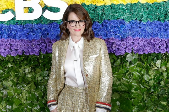 Tina Fey's Broadway musical Mean Girls is being adapted for the big screen. File Photo by John Angelillo/UPI