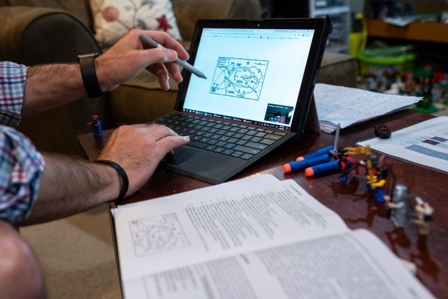 A constant refrain from worker comments was disappointment in their company's remote-work policy -- or lack thereof. File Photo by Kevin Dietsch/UPI