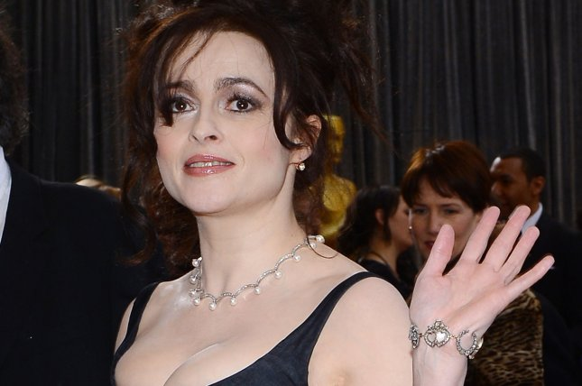 Actress Helena Bonham Carter arrives on the red carpet at the 85th Academy Awards in Los Angeles on Feb. 24, 2013. File Photo by Jim Ruymen/UPI