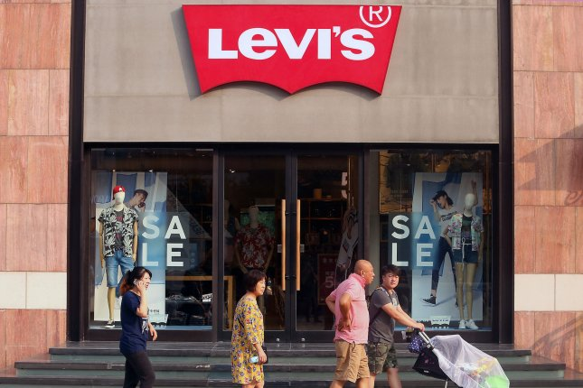 Levi Strauss announced this week action to fight gun violence in the United States. File Photo by Stephen Shaver/UPI