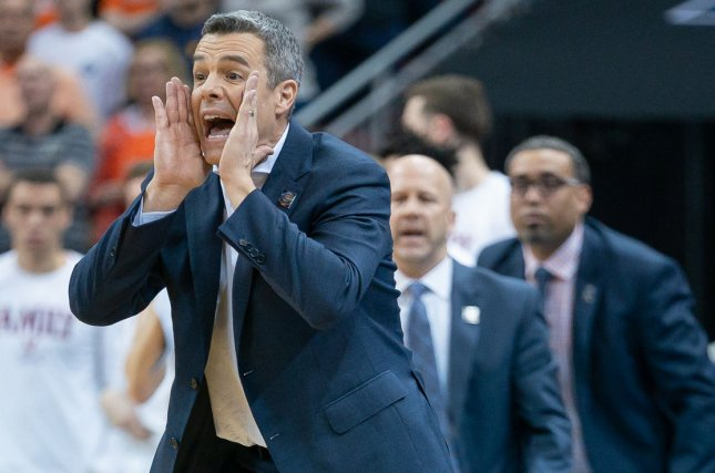 Virginia men's basketball coach Tony Bennett and the Cavaliers were forced to pull out of the ACC tournament earlier this month because of a positive COVID-19 test. File Photo by Bryan Woolston/UPI