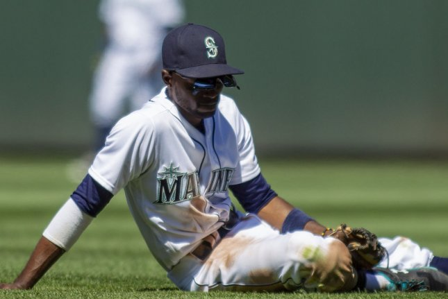Veteran infielder Dee Strange-Gordon, who signed a contract Wednesday with the Milwaukee Brewers, spent the 2020 season with the Seattle Mariners. File Photo by Jim Bryant/UPI