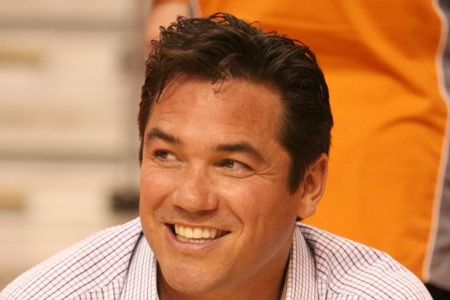 Actor Dean Cain seems to enjoy the activities before the start of Game six of the NBA Western Conference Finals between the Phoenix Suns and Los Angeles Lakers at the US Airways Center, in Phoenix, AZ, May 29, 2010. Photo by Art Foxall/UPI