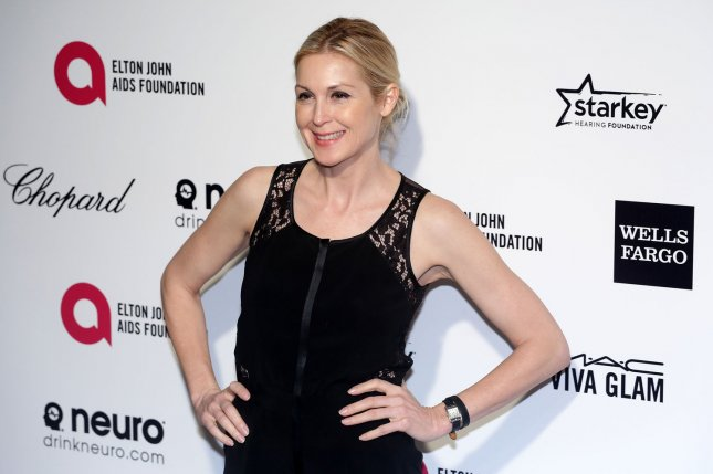Kelly Rutherford arrives for the Elton John AIDS Foundation Academy Awards Viewing Party at West Hollywood Park in Los Angeles on Feb. 22, 2015. Photo by Jonathan Alcorn/UPI
